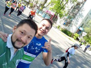 Сотрудники ТОО «АлматыЭнергоСбыт» приняли участие в «Алматы Марафон» 2018